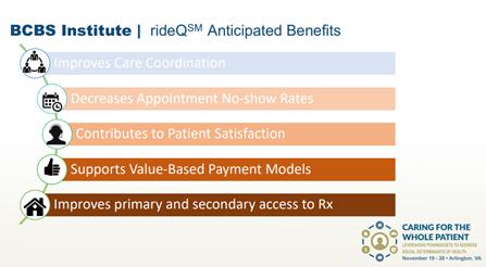 RideQ Benefits